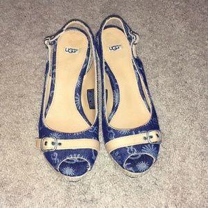 Authentic Ugg Sandals Denim